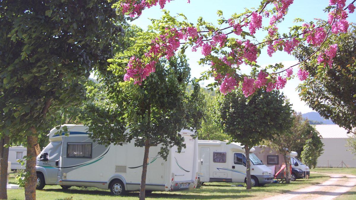 camping-car en Cévènnes