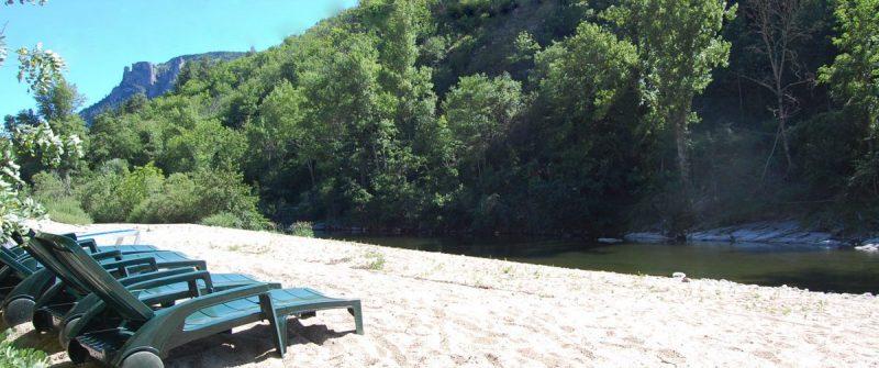 Camping en bord de rivière -Cévennes
